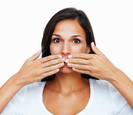 медицинский запах изо рта